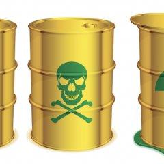 ¿Cómo se etiquetan los diferentes residuos peligrosos?
