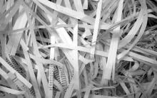 destrucción de productos papel Leonardo Gestión de Residuos